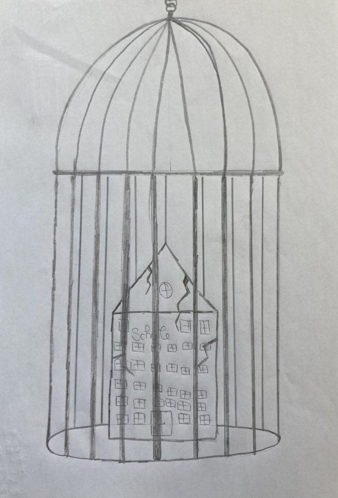 Disegno © Sarah Urthaler, Maria Hueber Gymnasium Bozen